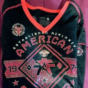American fighter long sleeve for women's